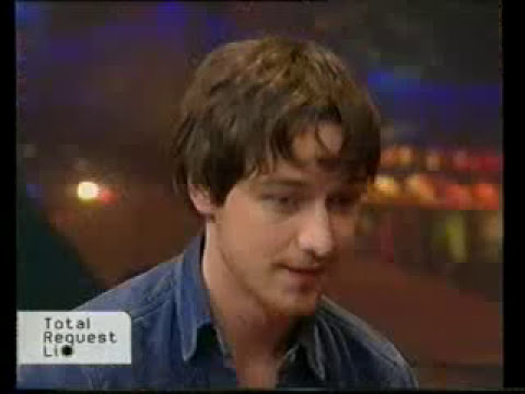 James McAvoy on MTV TRL for Narnia - 1/2