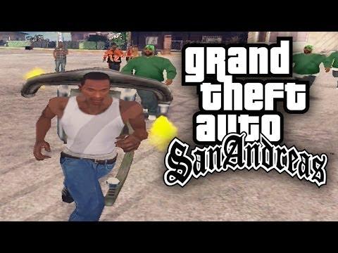 GTA San Andreas THROW BACK THUG LIFE