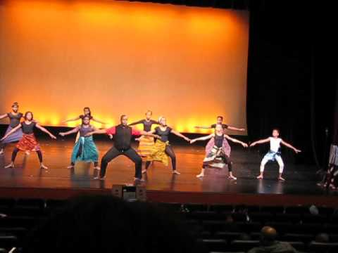 Freedom Theater African Dance 1