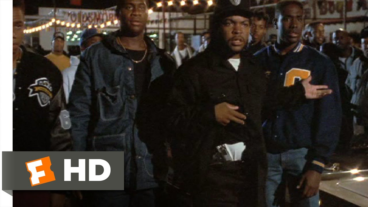 Boyz n the hood 4 8 movie clip we got a problem here 1991 hd youtube - Hood novi ...