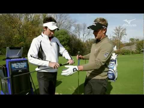 Mizuno Golf Swing DNA:  Luke Donald's iron custom fitting