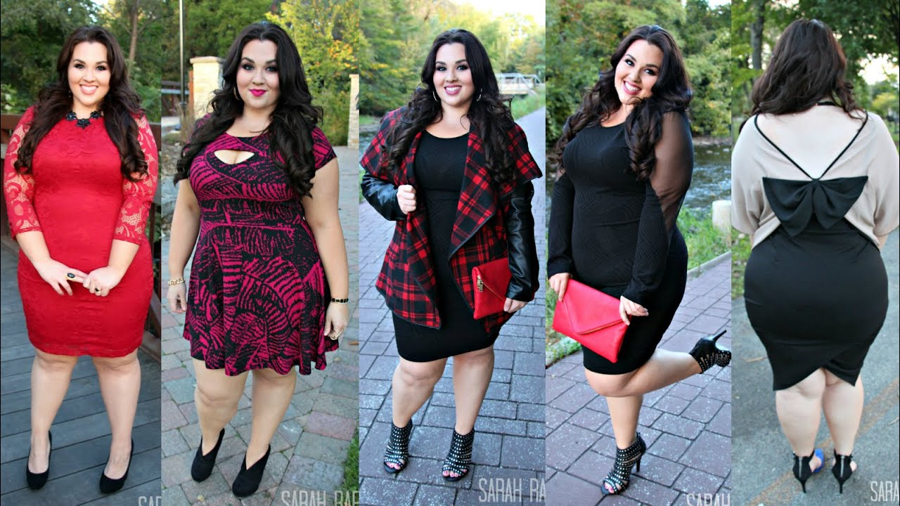 Plus Size Fashion Lookbook Fall Dresses Lookbook Plus