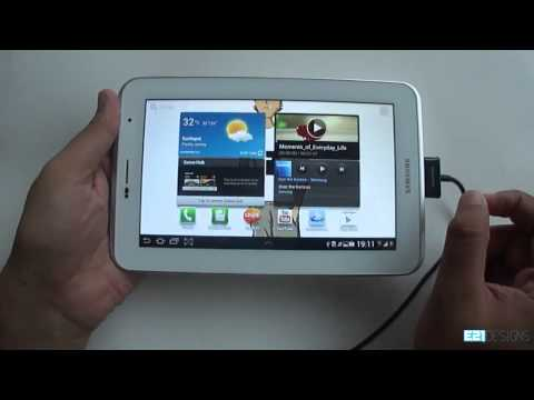 Samsung Galaxy Tab 2 7.0 How To Transfer Files From Galaxy Tab To