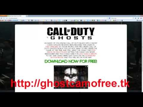 Get Ghost Camo FREE! [How To] [Working]