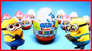UNBOXING EGGS & TOYS Surprise NEW STYLE Cars,Princess,The Smurfs,Toys