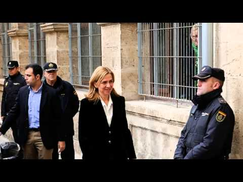 Spanish Princess Cristina To Face Charges