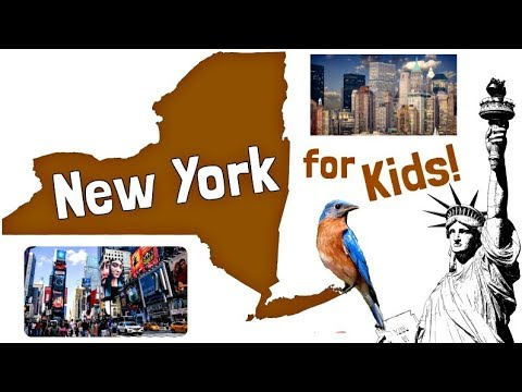 New York for Kids | US States Learning Video