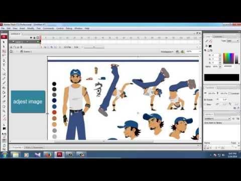 macromedia flash image convert to animation