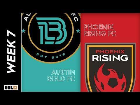 Austin Bold FC vs. Phoenix Rising FC: April 17th, 2019