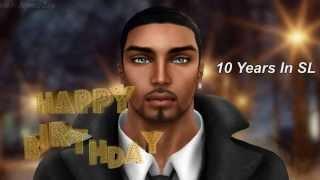 Second Life Cruiz Control 10th Rezzday Video Scrapebook