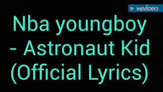 Nba Youngboy Astronaut Kid Official