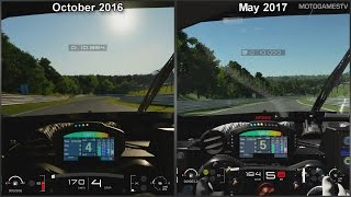 Gran Turismo Sport - October 2016 vs May 2017 - Renault R.S.01 GT3 at Nordschleife