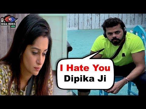 Bigg Boss 12 : Sreesanth Badly Angry On Dipika Kakar | BB 12 Day 25 Highlights