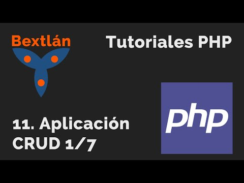 Curso Práctico de PHP - Cap 11 Aplicación Web PHP-MySQL con HTML5 parte1