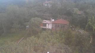 Syma X5C1 Quadcopter - HD Camera Flight Over Fairfield giresun havadan çekim köy