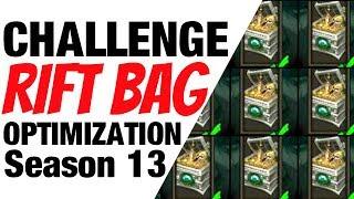 Diablo 3 Season 13 Challenge Rift Bag Optimization Guide Leveling & Gearing