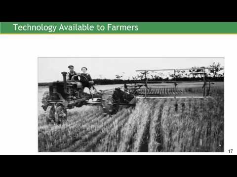 U S  Farm Bill History
