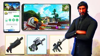 FORTNITE MOBILE / NEW WEAPONS Coming to Fortnite Battle Royale!
