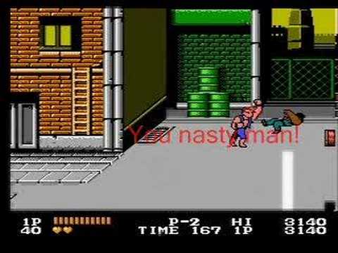 Double Dragon NES - Stage 1 Video