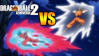 Dragon Ball Xenoverse 2 NUEVO GOHAN DEFINITIVO VS GOKU SUPER SAIYAN BLUE KAIOKEN X10
