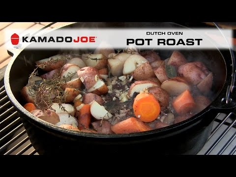 Kamado Joe Dutch Oven Pot Roast