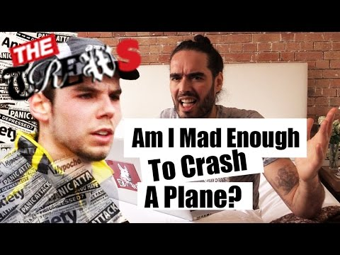 Am I Mad Enough To Crash A Plane Into A Mountain? Russell Brand The Trews (E287)