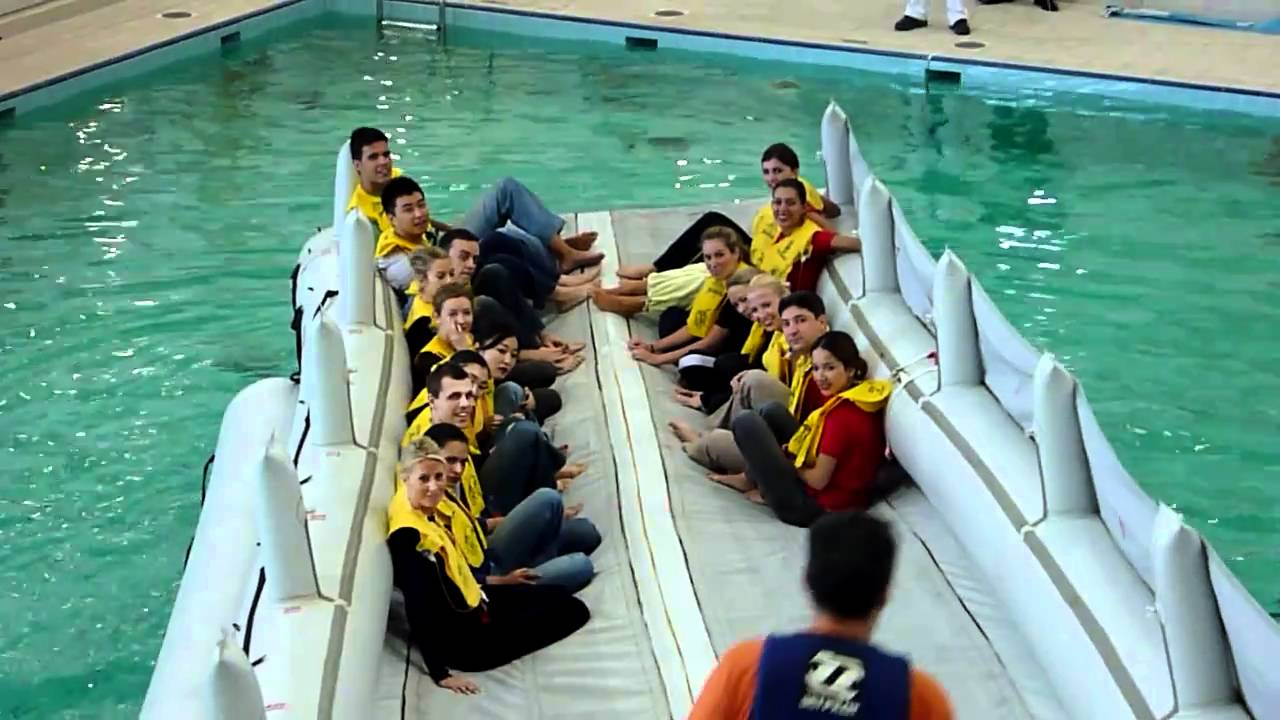Escape Slide Raft Slide Raft