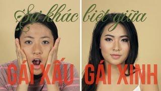 Sự khác nhau giữa gái xinh và gái xấu - Diễn Viên Minh Trang