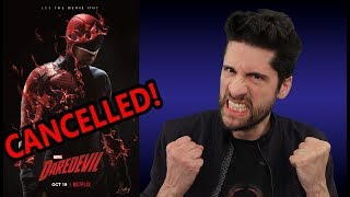 Netflix Daredevil CANCELLED! (My Thoughts)