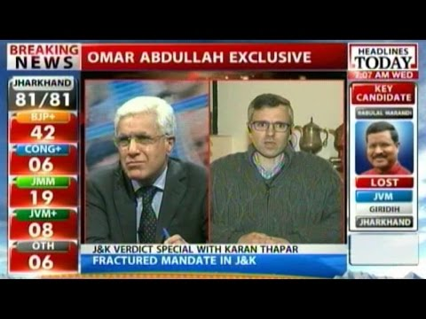 Omar Abdullah open to all options for alliance