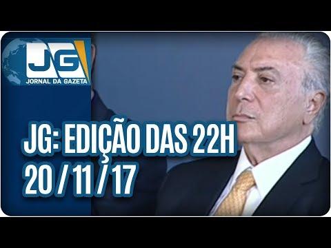 Jornal da Gazeta - Edição das 10 - 20/11/2017