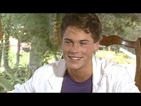 19-Year-Old Rob Lowe Talks Being a Teen Heartthrob, Adjusting to Fame