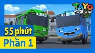 Tayo Phần1 Tập6-10  biên soạn l Tayo xe buýt bé nhỏ l Phim hoạt hình cho trẻ em