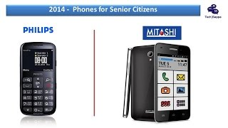 2014 Top Senior Citizens Phones (Philips Xenium X2566 & Mitashi Play Senior Friend AP103)