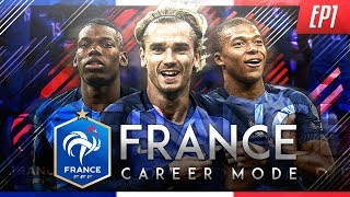 FIFA 18 France World Cup Career Mode - EP1 - The FIFA World Cup Begins!!