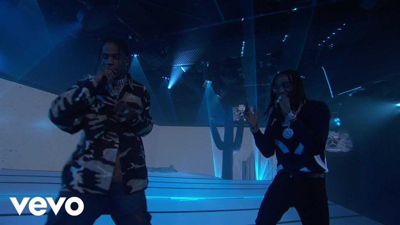 Huncho Jack, Travis Scott, Quavo - Eye 2 Eye (Live on Jimmy Kimmel Live!)