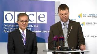 OSCE SMM. Ukraine Crisis Media Center, 12th of December 2014