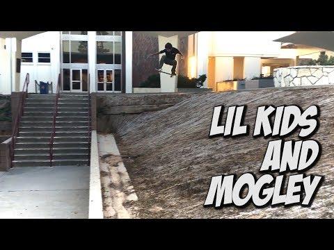 LIL KIDS AND MOGLEY AMAZING SKATE DAY !!! - NKA VIDS -