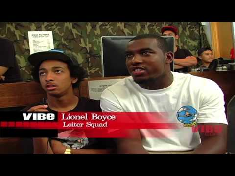 Vibe.com talks to Odd Future's Loiter Squad cast members about their new show on the Cartoon Network