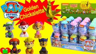 Paw Patrol Surprise Egg GOLDEN Chickaletta