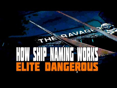 Elite Dangerous - Ship Naming - This is how it will work, and how much it will cost