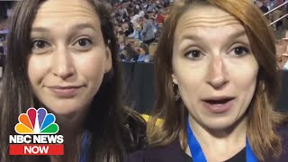 Behind The Scenes At The New Hampshire Democratic Convention | NBC News Now