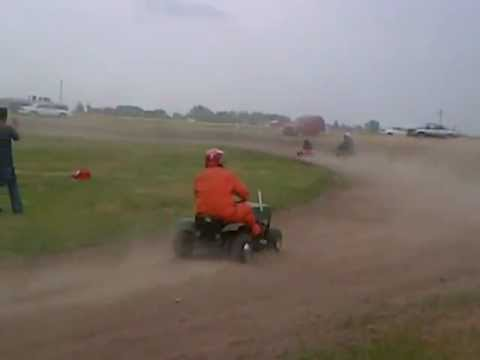 Taber,, AB Lawnmower Races 2012 Stock Class