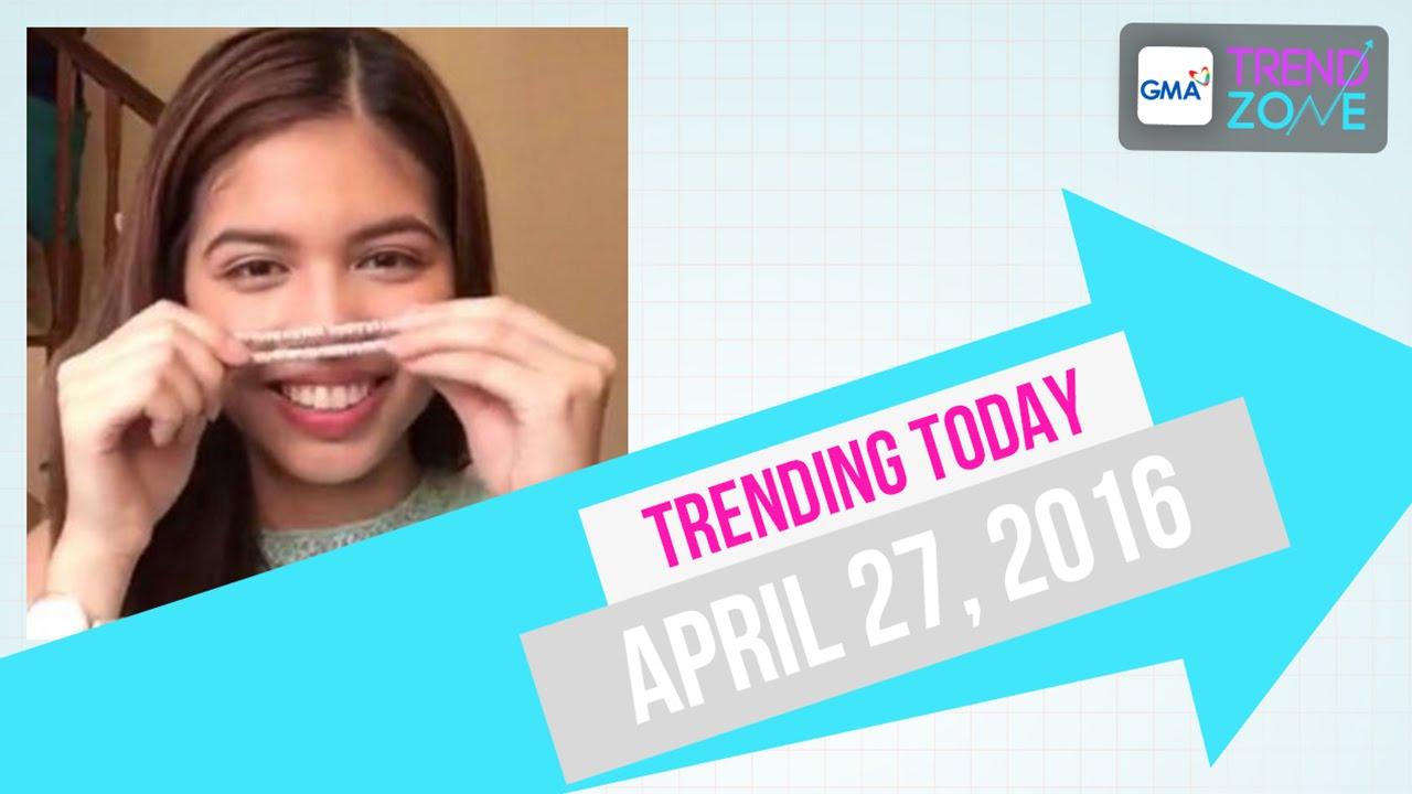 Trendzone - April 27, 2016