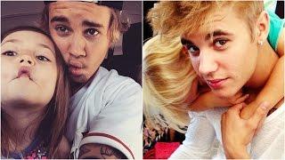 Justin Bieber and Jazmyn Bieber & Jaxon Bieber - Funny, Cute Moments