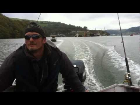 Mercury 20 hp outboard on aluminium boat (river Dart)