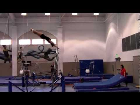 Highlights from AU Gymnastics Intra-Squad 10/26/12