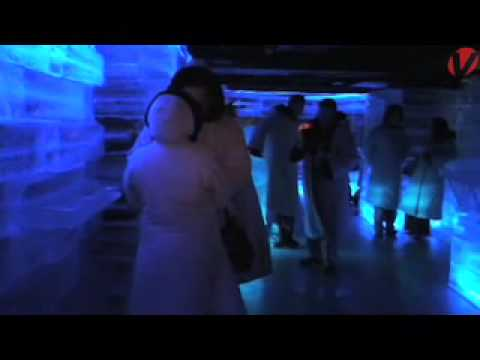 Icebar ahora arctic bar revista v rtigo youtube for Artic arredo bar