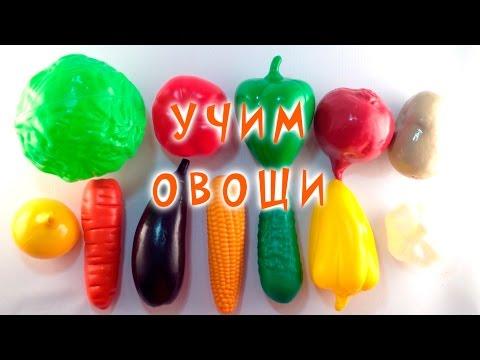 Овощи Учим слова Развивающее видео для детей Learning Vegetables Video for Children Vegetables