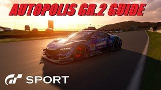 GT Sport Autopolis GR.2 Guide - Daily Race C